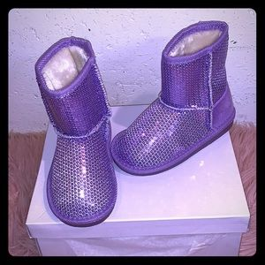 Purple 💜girl winter boots 💖
